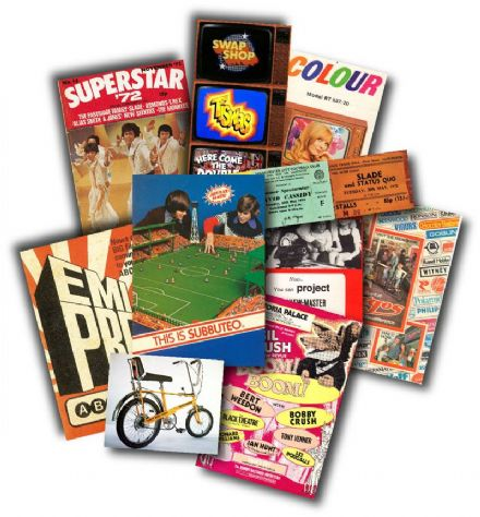 1970's Childhood Memorabilia Gift Pack